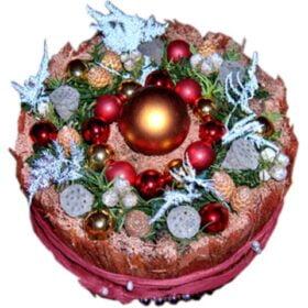 Kersttaartrondhoog